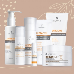 Valmari - Pele Incrível - Kit Rejuvenescimento Global com Vitamina C